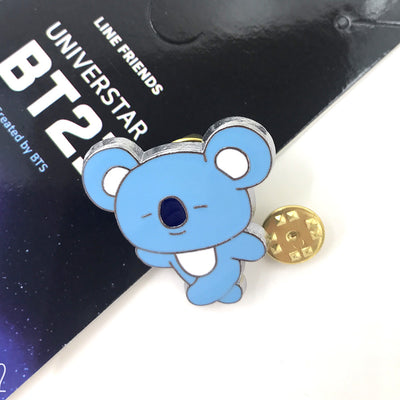 BTS BT21 Characters Brooch