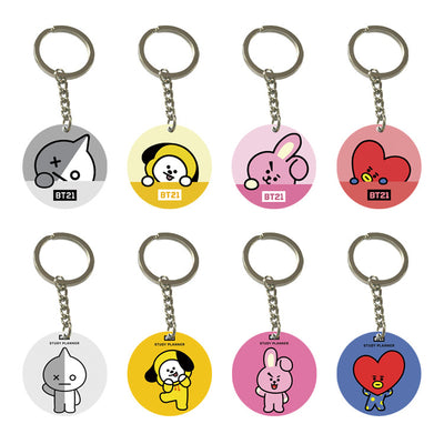 BT21 Badge/Ring Bracket/Balloon Bracket / Key Pendant