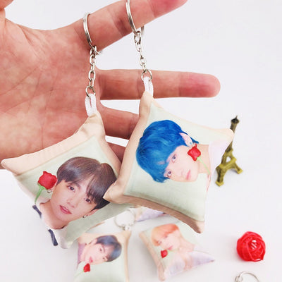 BTS Pillow Hanging Keychain