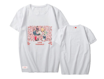 BTS SPEAK YOURSELF  Europe and America Tour T-shirt