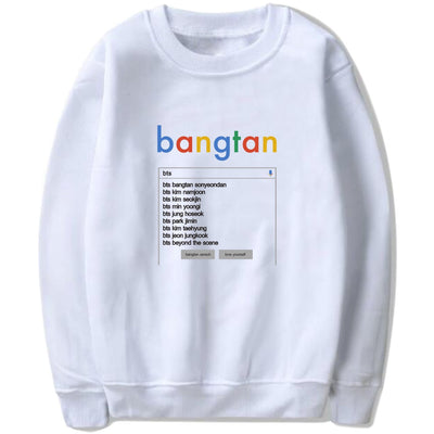 BTS Bulletproof Youth Group Sweater
