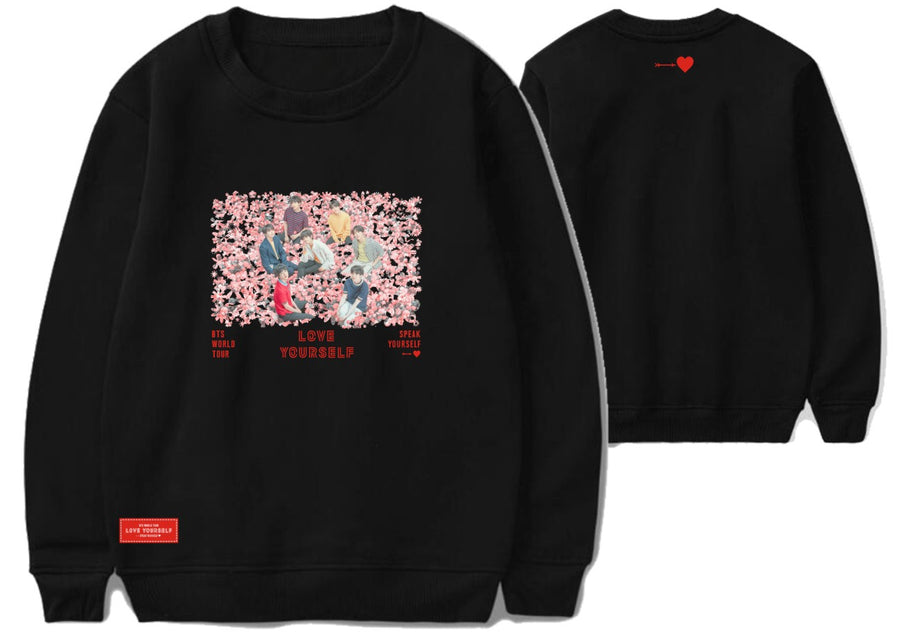 BTS SPEAK YOURSHELF Concert Sweater