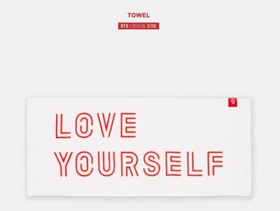 BANGTAN BOYS LOVE YOURSELF  TOWEL