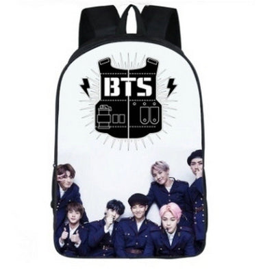 BTS Leather Backpack