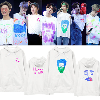 BTS 5TH MUSTER hoodies around