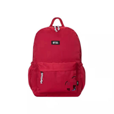 BT21 BTS Colorful Students Backpack