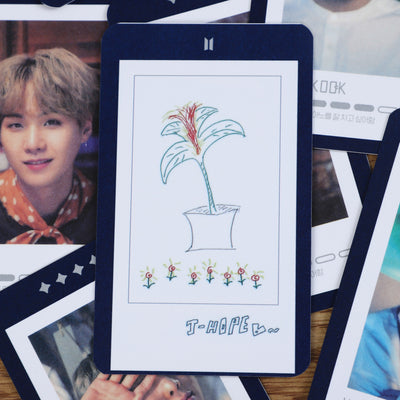 BTS Guest Book Card Set