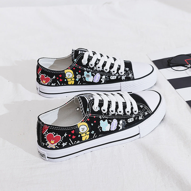 BT21 canvas shoes