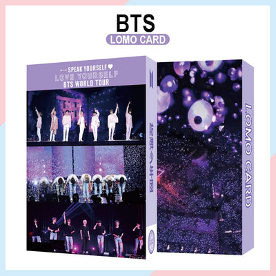 BTS Map Of The Soul 7 Lomo Cards