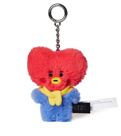 BTS Fluffy Baby Face Keychain