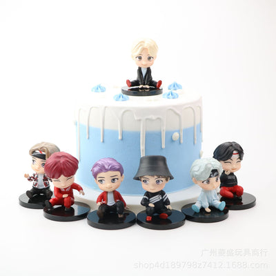 [ BUY 1 GET 1 FOR FREE !! ] BTS Set 7 Figures Set A (Set 7 pcs)