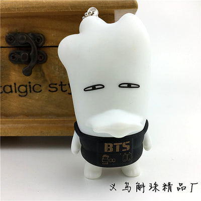BTS Key-chain With Numanoid Ugly Doll Version