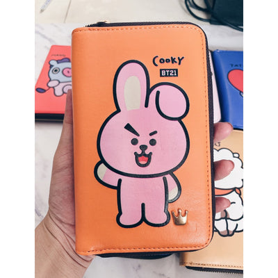 BT21 Cute Cartoon Wallet