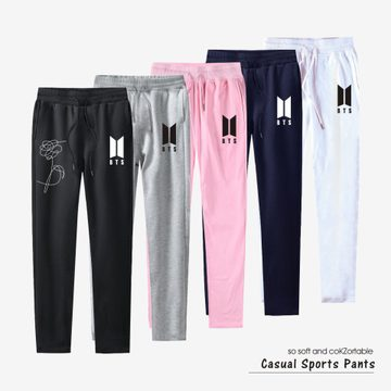 BTS New Album LOVE YOURSELF Casual Trousers