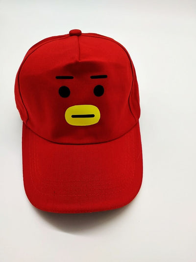 [Buy 1 Get 1 For FREE] BTS Cartoon Cap Limited