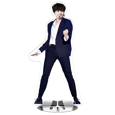 BTS 22cm PVCColor printing animation Standee