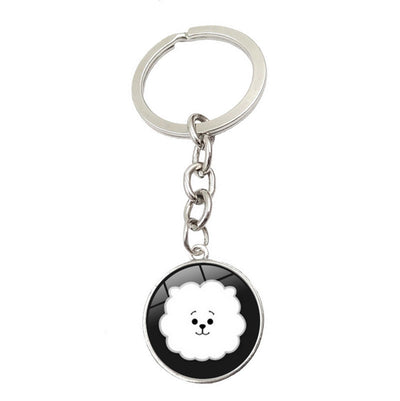 BTS Mental Jewelry Key Chain