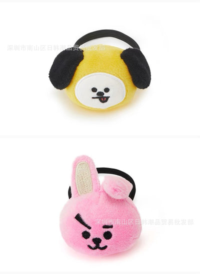 Rubber BT21 Hair Lanyard