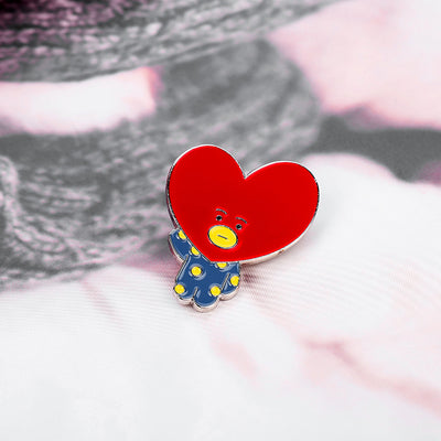 TWICE  And BTS Lapel Brooch Pins