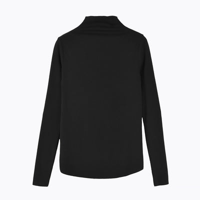 Half-high Collar Slim Shirt