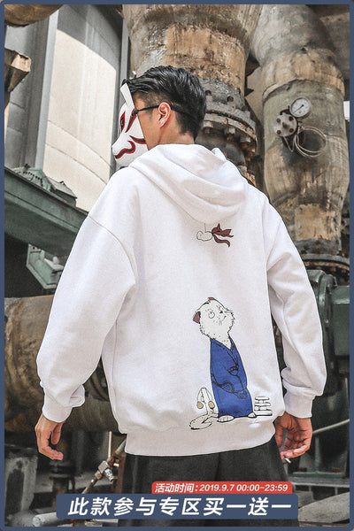 Chen We Cartoon Printing Hoodie