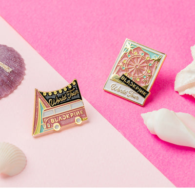 Blackpink Brooch and Keychain