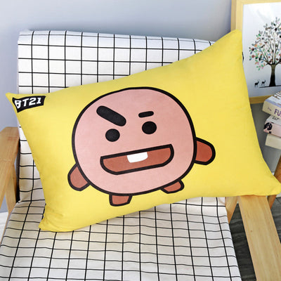 BT21 Cartoon Long Pillow