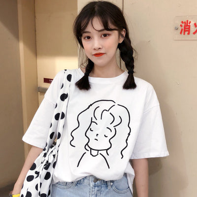 Short-sleeve Girl T-shirt
