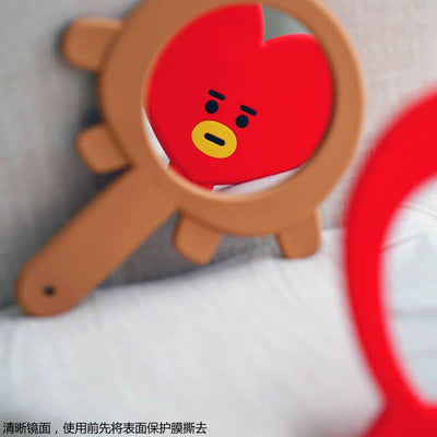 BTS Cartoon hand mirror