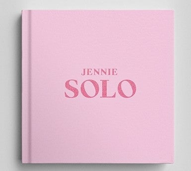 "Official ""SOLO"" Single Album-Blackpink Jennie"