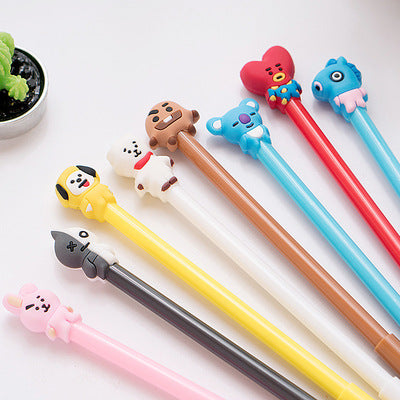 BTS Cartoon Ball Pen
