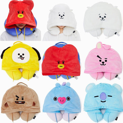 BTS U-pillow for travelling