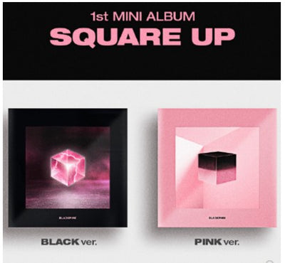 "Official Blackpink's ""SQUARE UP Album"" + gift"