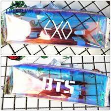 Kpop Hologram Pencil Case