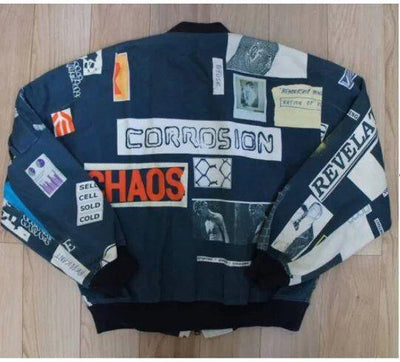 G-DRAGON Graffiti Letters Jacket