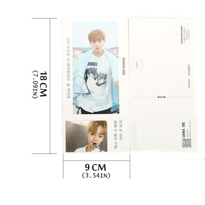 Wanna One Lomo Card