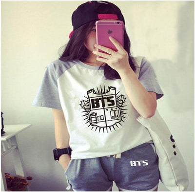 [BUY 1 GET 1 FOR FREE] BTS Short + Tshirt SET
