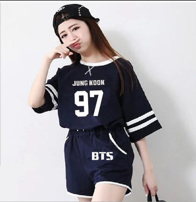 [Buy 1 Get 1 FOR FREE] BTS Short + Shirt Set
