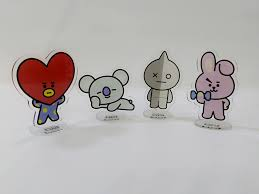 BT21 Mini Standee