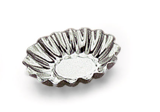 Petit four oval riflet