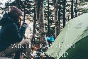 Winter kamperen in Nederland