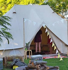 6M Emperor canvas bell tent