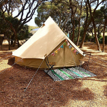 4 meter of 3 persoons canvas tent canvascamp