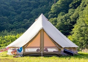 5 persoons canvas tent canvascamp