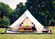 5 meter of 6 persoons canvas tent canvascamp