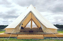 6 meter of 8 persoons canvas tent CanvasCamp