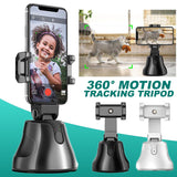 SMART SHOOTING PHONE HOLDER 360 DEGREE ROTATION AUTO FACE OBJECT TRACKING SELFIE STICK