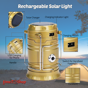 MULTIFUNCTION POWERED SOLAR LIGHT (BUY 1 TAKE 1)