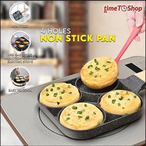 FOUR-HOLE NON-STICK PAN