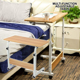 ADJUSTABLE BEDSIDE TABLE